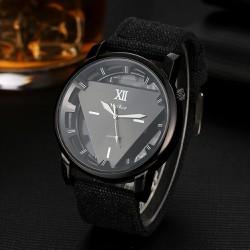 Đồng hồ nam dây vải , đồng hồ tam giác McyKcy