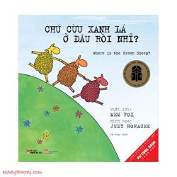 Sách Song Ngữ Anh Việt Chú Cừu Xanh Lá Ở Đâu Rồi Nhỉ