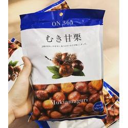 Hạt dẻ bóc vỏ Mukiamaguri - hàng xách tay Nhật Bản