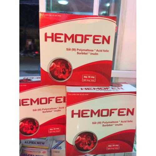 Siro bổ sung Sắt dạng ống Hemofen - 5294594 , 8800514 , 15_8800514 , 110000 , Siro-bo-sung-Sat-dang-ong-Hemofen-15_8800514 , sendo.vn , Siro bổ sung Sắt dạng ống Hemofen