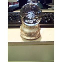 Hộp nhạc quả cầu thủy tinh 12 cung