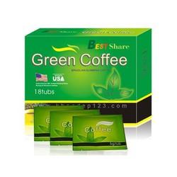 Combo 5 hộp Trà giảm cân Green Coffee Best Share