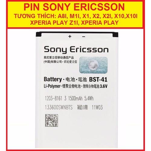 PIN SONY ERICSSON X2
