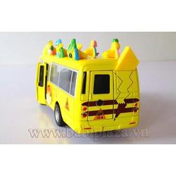 Đồ chơi mô hình xe Bus Pokemon  chạy cót cực đẹp