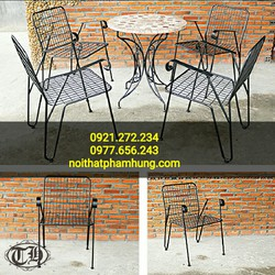 bàn ghế cafe cao cấp giá rẻ
