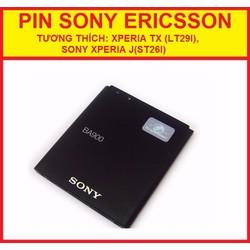 PIN SONY XPERIA J ST26I