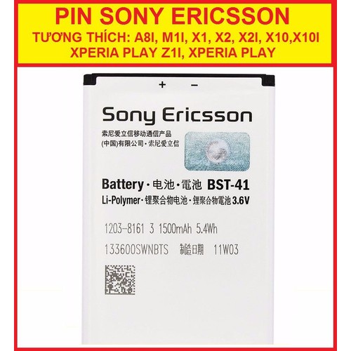 PIN SONY BST41