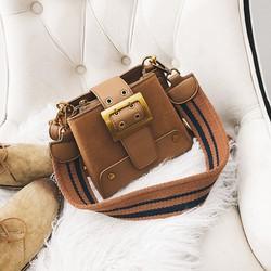 Túi đeo chéo 2 dây bản to cá tính, phong cách Hàn Quốc