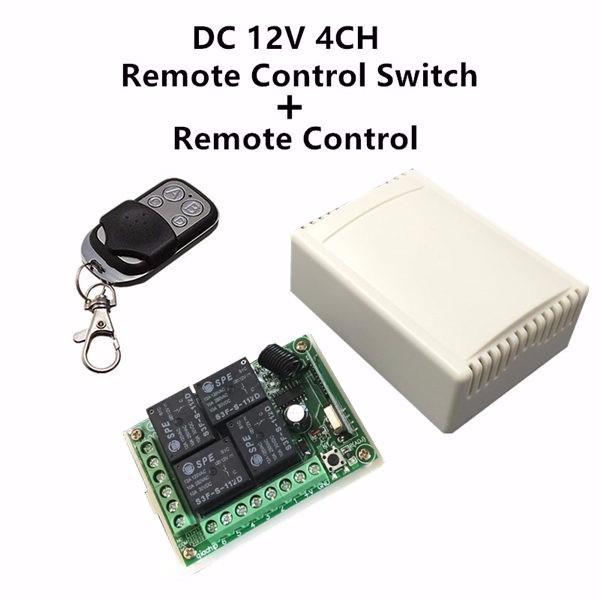 Bộ điều khiển từ xa 4 kênh nguồn 12v 1