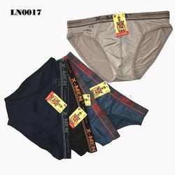 Combo 10 quần lót tam giác nam XMen - Lưng Màu - Thun Lạnh