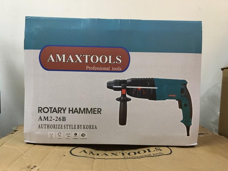 Máy khoan đục bản nâng cấp Amaxtools – Model: AM 2-26B 2
