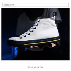 Giày nam trắng đẹp