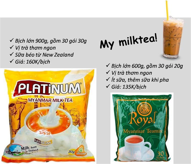 Trà sữa Platinum Myanmar 900gr 6