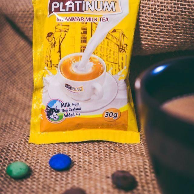 Trà sữa Platinum Myanmar 900gr 4