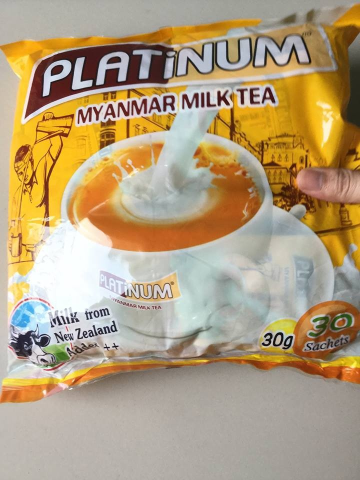 Trà sữa Platinum Myanmar 900gr 1