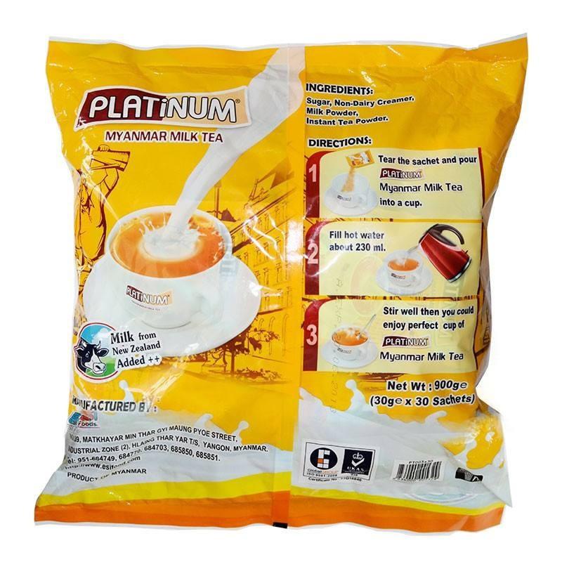 Trà sữa Platinum Myanmar 900gr 2