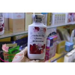 Kem dưỡng body hương nước hoa  Japanese Cherry Blossom
