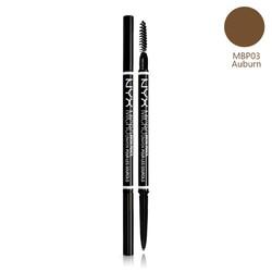 Bút kẻ mày siêu mảnh NYX Micro Brow Pencil MBP03 Auburn Nâu vàng