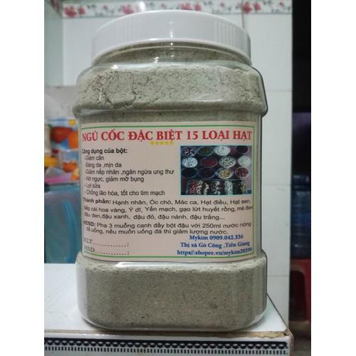 ngũ cốc đặc biệt 15 loại hạt 1kg
