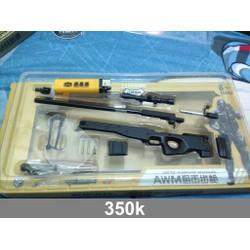 Mô hình súng AWM đen tỉ lệ 1 phần 3.5
