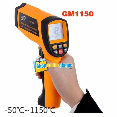 Máy đo nhiệt độ hồng ngoại GM1150 - 5339995 , 8894449 , 15_8894449 , 1400000 , May-do-nhiet-do-hong-ngoai-GM1150-15_8894449 , sendo.vn , Máy đo nhiệt độ hồng ngoại GM1150