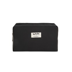 Túi đựng trang điểm NYX Black Medium Rectangular Zipper Makeup Bag 08