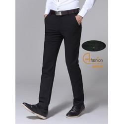 Quần Tây Nam Ống Ôm Ống Côn H fashion - Màu đen