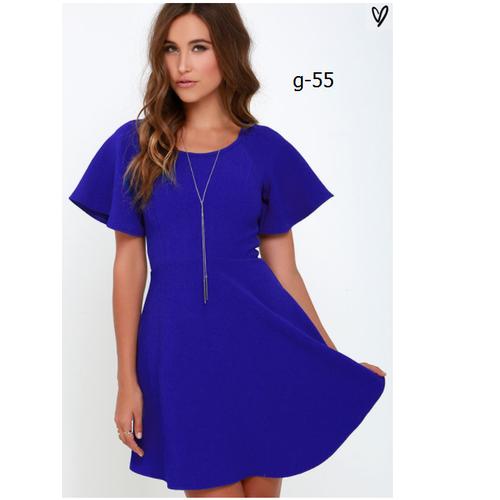 ĐẦM XÒE TAY BÈO FULL SIZE hàng nhập - dress98G