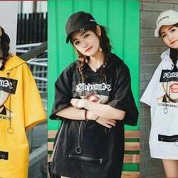 Áo hoodie thun Thái cực chất