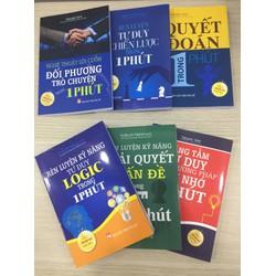 Combo 7 cuốn sách kỹ năng bán chạy nhất Nhật Bản