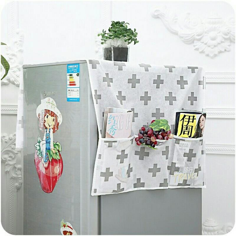 Khăn che tủ lạnh chống thấm siêu bền 2