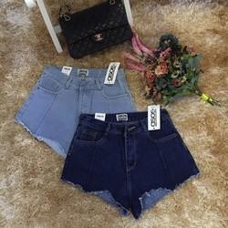 Short jeans lưng cao