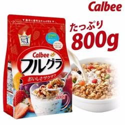 Ngũ cốc Calbee Nhật Bản date tháng 11.2018