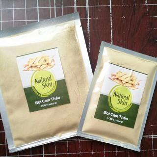 Bột Cam Thảo nguyên chất Natural Skin 100g - 2263 thumbnail