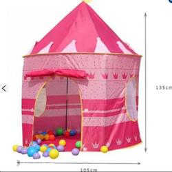 Lều bóng công chúa hoàng tử -hồng