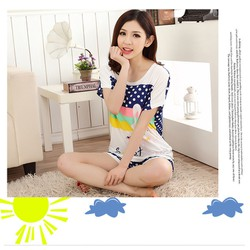 Đồ mặc nhà nữ thời trang kiểu dáng cá tính trẻ trung mẫu Hàn