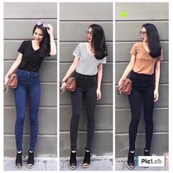 Quần Jeans Nữ 3 Màu Hot 2018 - Có size Lớn 26 đến 35