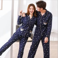 Bộ đồ ngủ nam pyjama 2018 Hàn Quốc cao cấp 109