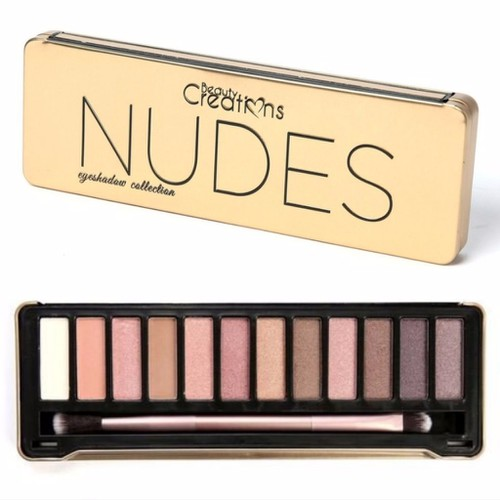 BẢNG PHẤN MẮT 12 MÀU BEAUTY CREATIONS NUDES EYESHADOW COLLECTION