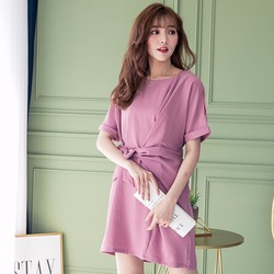 Váy nữ cá tính  có dây thắt ngang lưng Hàn Quốc