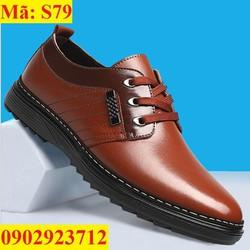 Giày Nam Sang Trọng Đẳng Cấp - S79