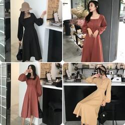Váy Vintage Hàn Quốc