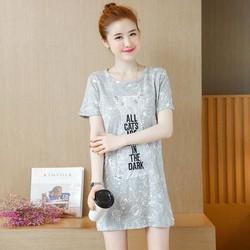 Váy suông con mèo xinh xắn hàng Quảng châu cao cấp