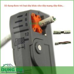 Dụng cụ tuốt vỏ cáp đồng trục, cáp mạng, dây điện chuyên dụng