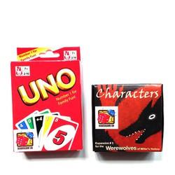 Board Game CBBG18 Combo Ma Sói Characters và bài Uno...
