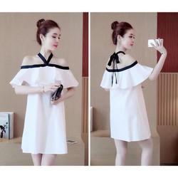 Váy xuông điệu đà hàng Quảng châu cao cấp