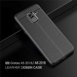 Ốp lưng Galaxy A8 2018 LT Leather Design Case chống sốc