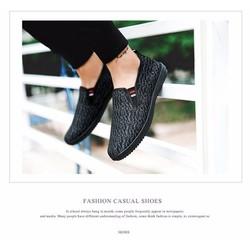 giày lười vải nam thời trang