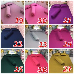 Bộ drap thun Hàn Quốc 1m8 cao cấp  28 màu