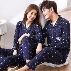 Bộ đồ ngủ pyjama nam 2018 Hàn Quốc cao cấp 109